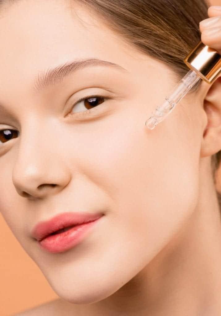 Huile de CBD pour les cheveux et la peau
